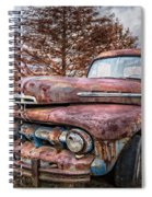 1951 Ford Truck Spiral Notebook