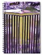 1951 Jaguar Mark V D H C Spiral Notebook