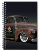 1951 Rusty Chevrolet Pickup Truck Spiral Notebook