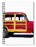 1951 Willy's Jeep Wagon Spiral Notebook