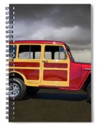 1951 Willy's Jeepster Spiral Notebook