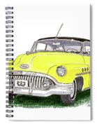 1952 Buick Special Spiral Notebook