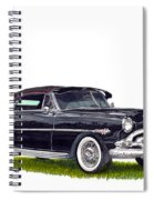 1952 Hudson Hornet Convertible Spiral Notebook