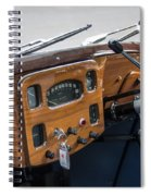 1952 Triumph Renown Limosine Instrument Panel Spiral Notebook