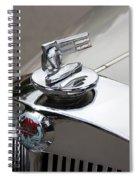 1952 Triumph Renown Limosine Radiator Cap Spiral Notebook