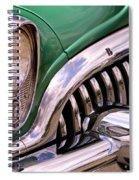 1953 Buick Chrome Spiral Notebook