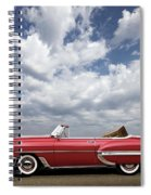 1953 Chevy Bel Air Convertible, Mixed Media, Louis Vuitton Steamer Trunk  Spiral Notebook