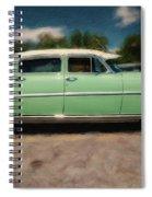 1953 Hudson Hornet Spiral Notebook