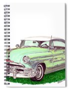 1953 Pontiac Chieftain Catalina H.t. Spiral Notebook