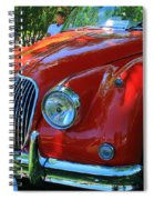 1953 Xk 150 Jaguar Spiral Notebook