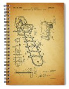 1954 Chainsaw Patent Spiral Notebook