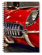 1954 Chevrolet Corvette Number 3 Spiral Notebook