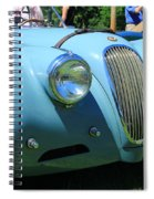 1954 Jaguar Xk Spiral Notebook