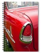 1955 Chevrolet Bel Air Tail Light Spiral Notebook