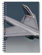 1955 Chevrolet Hood Ornament Spiral Notebook