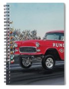 1955 Chevy Gasser Spiral Notebook