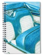 1956 Ford Fairlane Convertible 1 Spiral Notebook