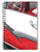 1956 Ford Fairlane Convertible 2 Spiral Notebook