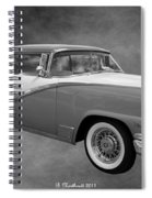 1956 Ford Fairlane Victoria Spiral Notebook
