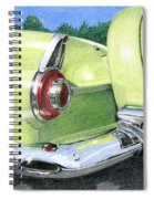 1956 Ford Thunderbird Spiral Notebook