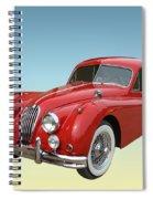 1956 Jaguar Xk 140 Mc Spiral Notebook