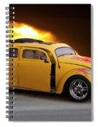 1956 Vw 'hot Rod' Bug II Spiral Notebook