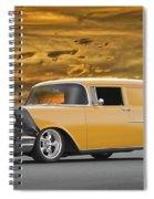1957 Chevrolet Sedan Delivery II Spiral Notebook