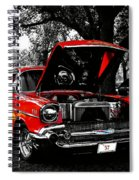 1957 Chevy Bel Air Spiral Notebook