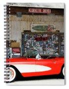 1957 Corvette Hackberry Arizona Spiral Notebook