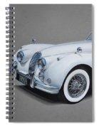 1957 Jaguar Xk140 Spiral Notebook