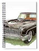 1957 Lincoln Continental Mk II Spiral Notebook