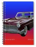 1957 Lincoln M K I I Spiral Notebook