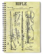 1957 Rifle Patent Spiral Notebook