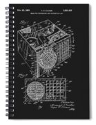 1958 Air Conditioner Patent Spiral Notebook