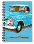 Apache Pick Up Truck Spiral Notebook