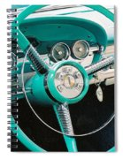 1958 Edsel Pacer Dash Spiral Notebook