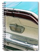 1958 Edsel Pacer Tail Light Spiral Notebook