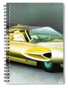 1958 Ford Automobile Spiral Notebook