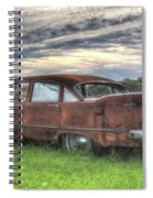 1958 Plymouth Savoy Spiral Notebook