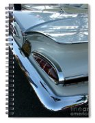 1959 Chevrolet Impala Tailfin Spiral Notebook