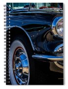 1959 Chevy Corvette Spiral Notebook