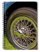 1959 Jaguar X K 150s Wire Wheel Spiral Notebook
