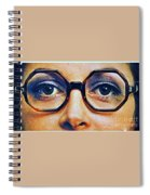 1960 70 Stylish Female Glasses Advertisement 4 Spiral Notebook