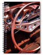 1960 Chevrolet Impala Convertible Spiral Notebook