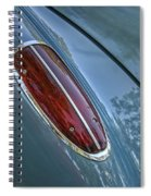 1960 Chevrolet Corvette Tail Light Spiral Notebook