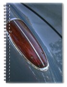 1960 Chevy Corvette Taillight Spiral Notebook