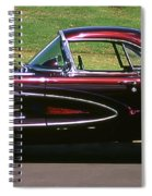 1960 Corvette Spiral Notebook