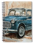 1960 Fiat 1100 103 H Spiral Notebook