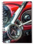1960 Rambler Dashboard Spiral Notebook