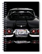 1960 Thunderbird Hardtop Coupe Spiral Notebook